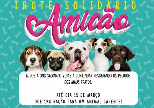 Trote Solidário reforça a importância da causa animal