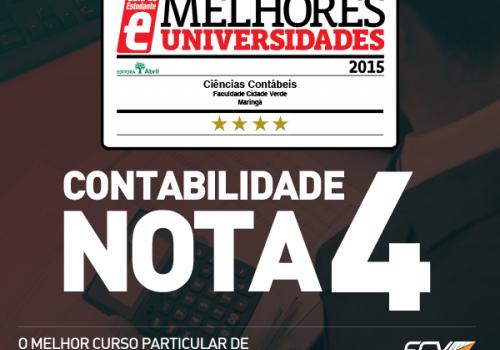 FCV é a instituição particular com melhor nota de Maringá