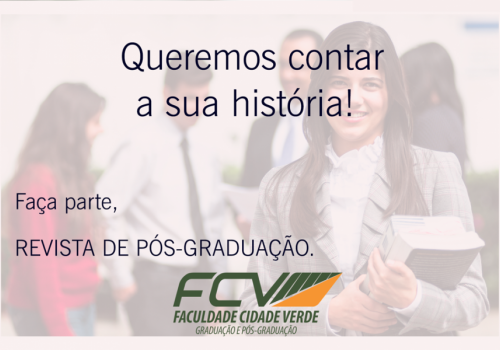 FCV lança revista com trabalhos de pós-graduação