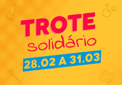 UniFCV promove o trote solidário 2020/1