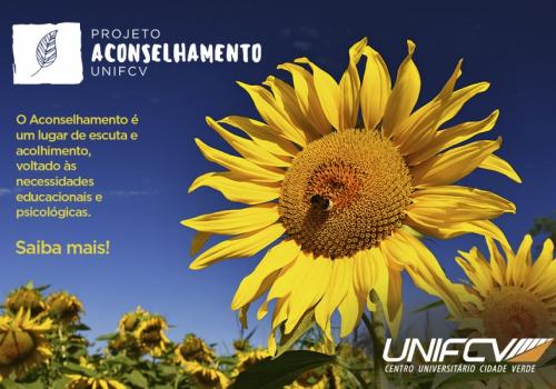 Projeto Aconselhamento tem como objetivo ouvir e dialogar com alunos da UNIFCV