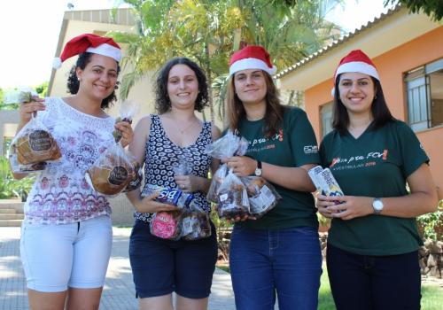 Lar Preservação da Vida recebe doações de panetones e chocolates