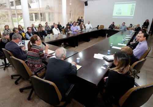 FCV na apresentação do projeto Natal Maringá 2015