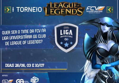 Torneio definirá representante da FCV na Liga Universitária GG Club de LOL
