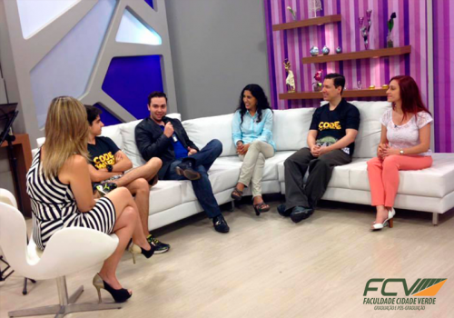 Professor da FCV participa de programa de TV