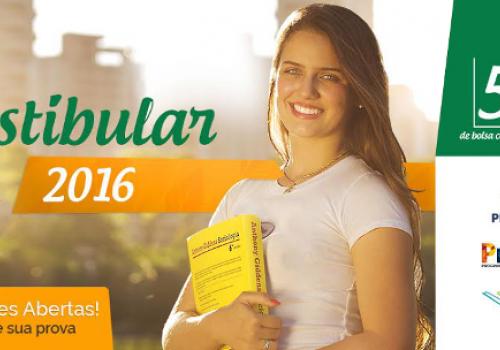 Inscrições abertas para o Vestibular 2016 da FCV