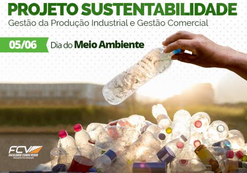 No mês do meio ambiente projeto sustentável ensina alunos a reciclar