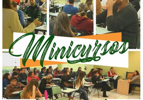 Ciclo de Estudos: alunos da manhã e noite se dividem em minicursos