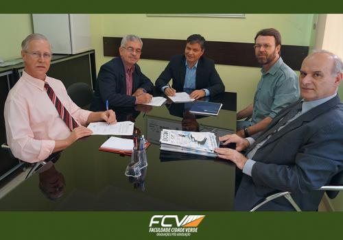 FCV firma acordo e terá Núcleo de Apoio Contábil e Fiscal