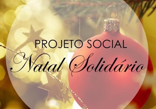 FCV realiza projeto social Natal Solidário