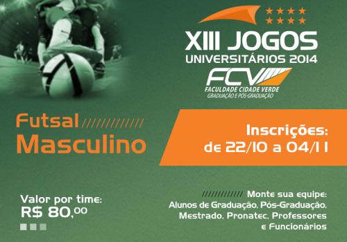FCV organiza XIII Jogos Universitários